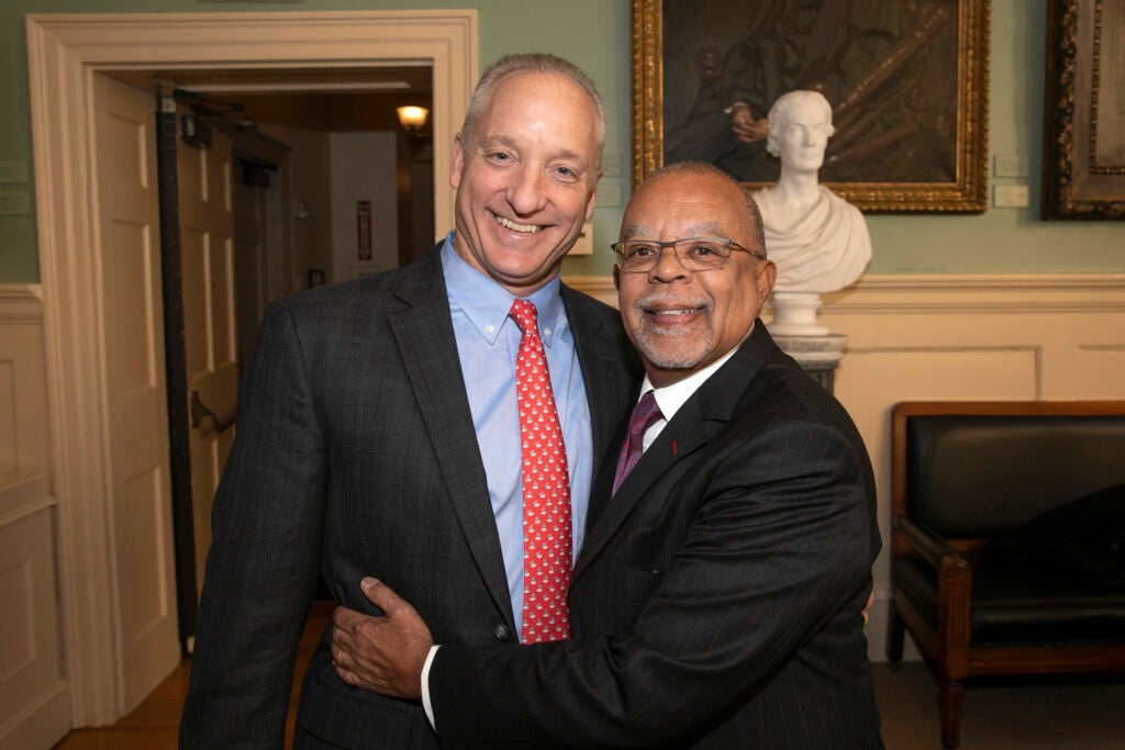 "Michael D. Smith and Henry Louis ""Skip"" Gates Jr."
