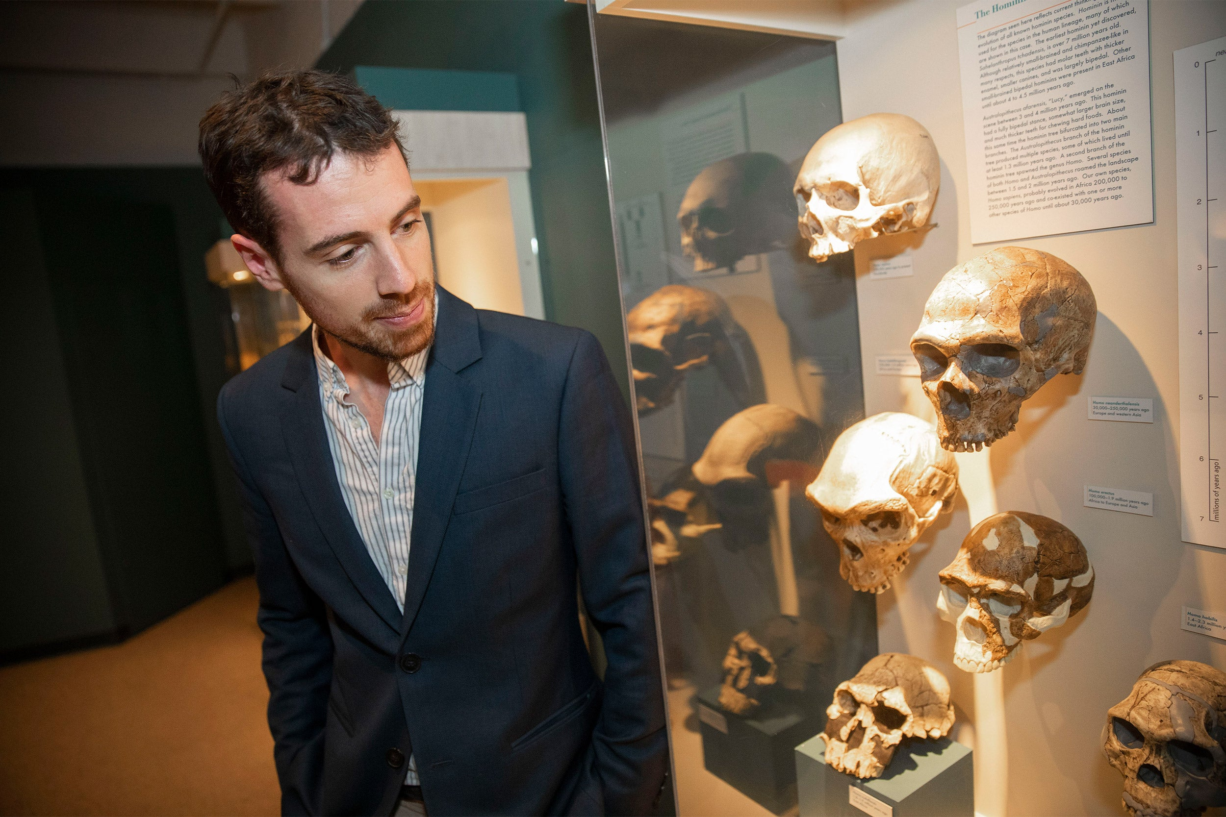 Teeth may be an important new resource for understanding the lives of our extinct relatives, said Daniel Green, a postdoctoral fellow at the Forsyth Institute, an affiliate of Harvard Dental School of Medicine.