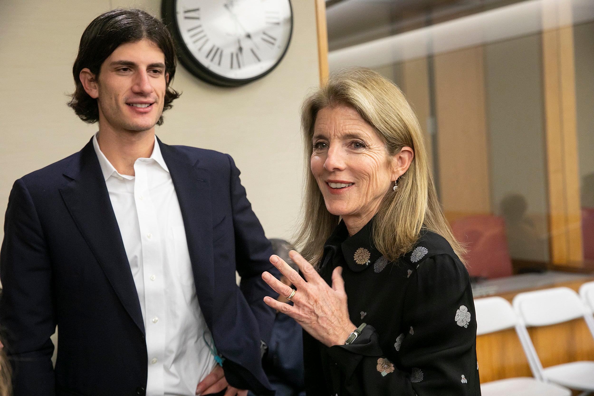 Jack Schlossberg and Caroline Kennedy