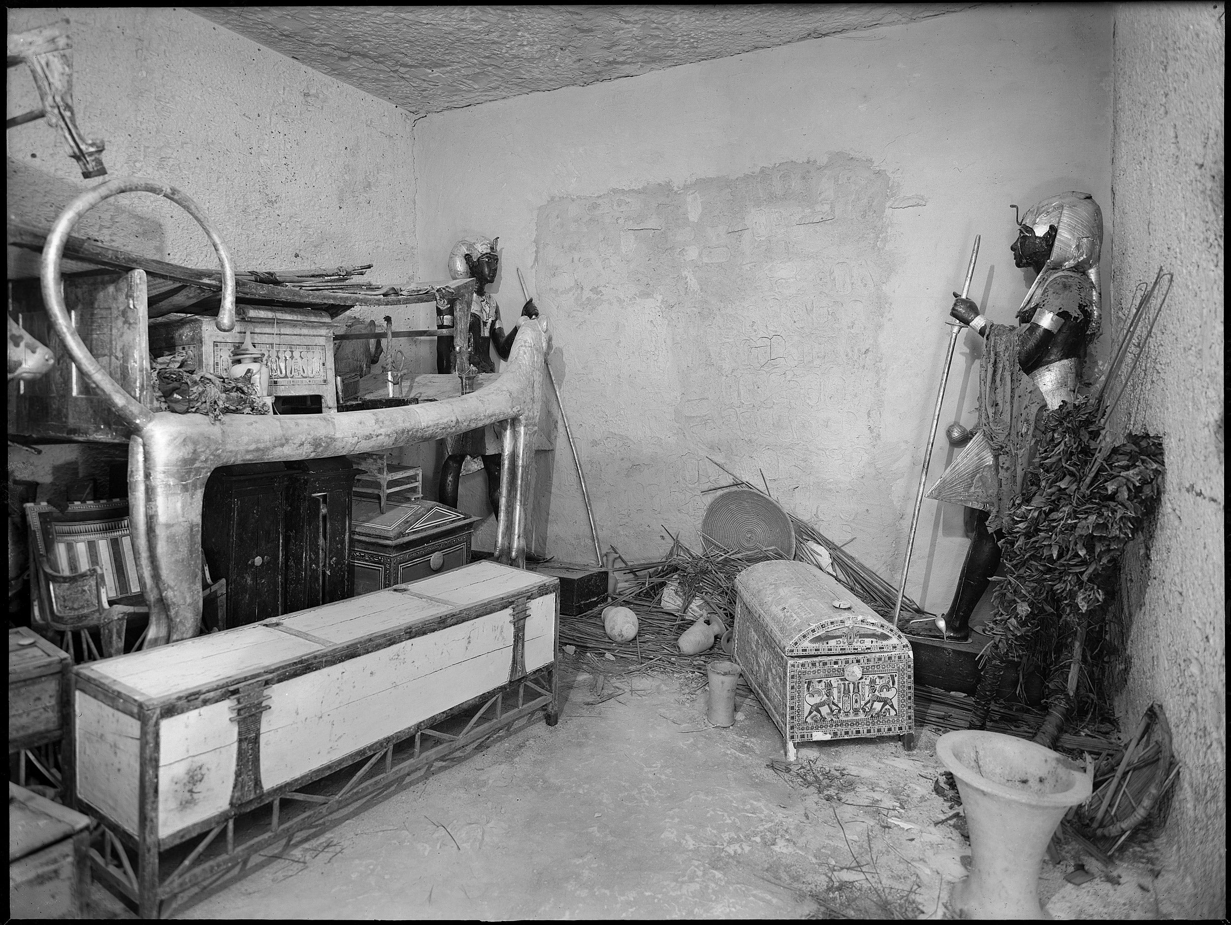 King Tut's tomb.