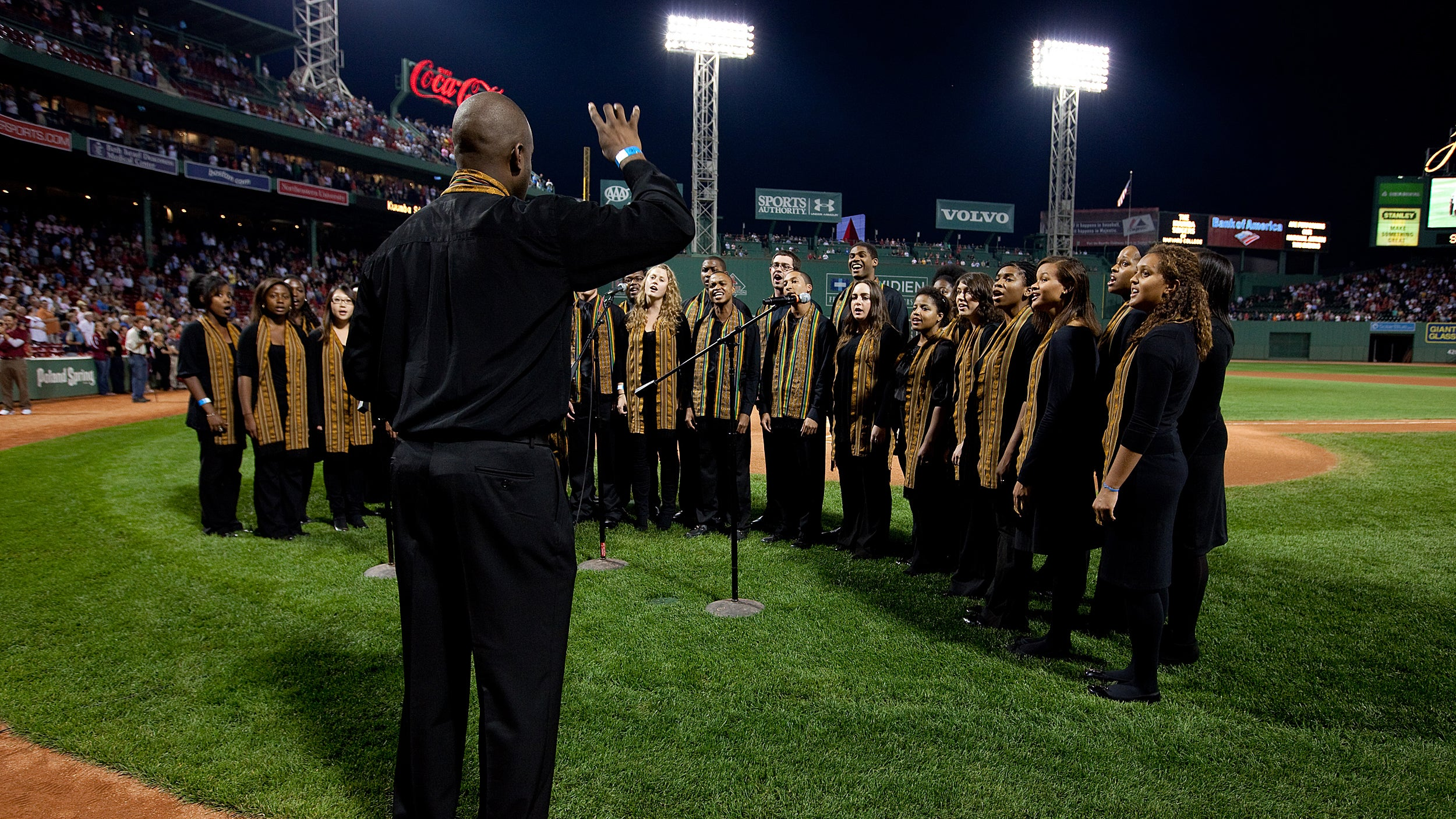 Kuumba Singers at Fenway.