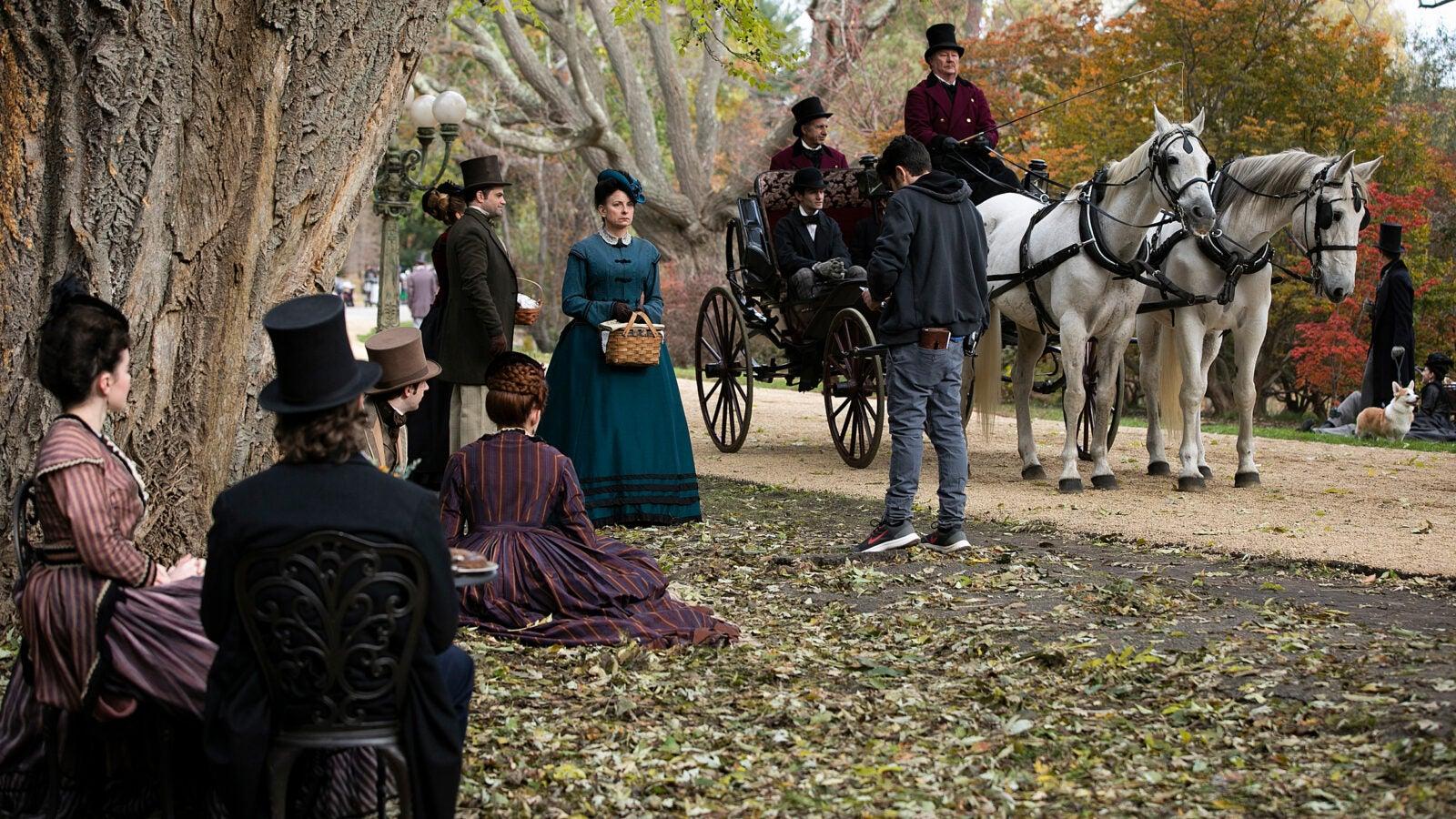 'Little Women' filmed at Arnold Arboretum.