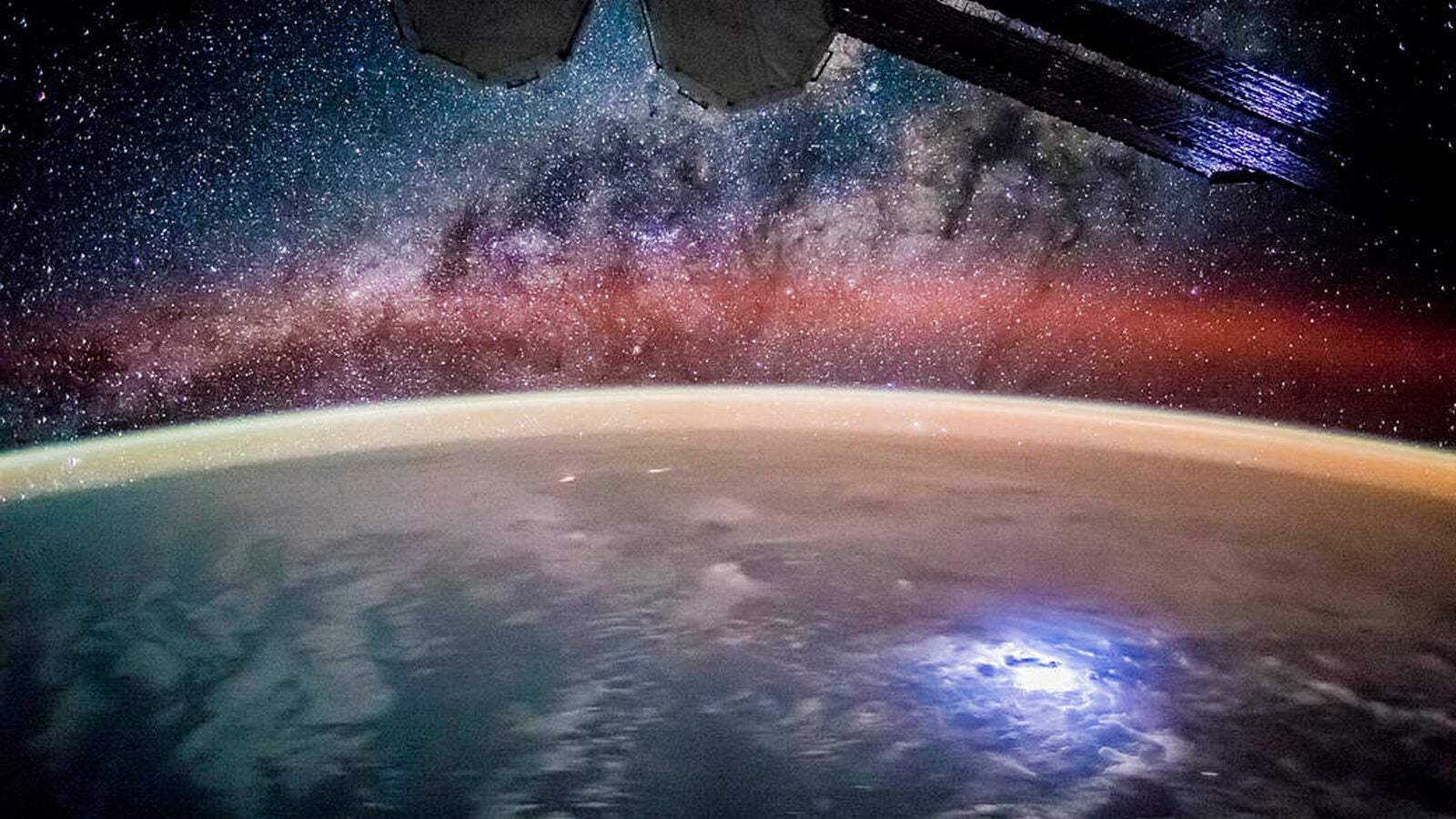 Earth's night lights.
