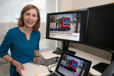 Harvard Law School Professor Susan Crawford recently taught a course that included an introduction to the issues surrounding driverless vehicles.