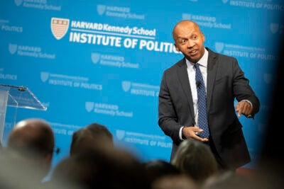 Bryan Stevenson at the Kennedy School.