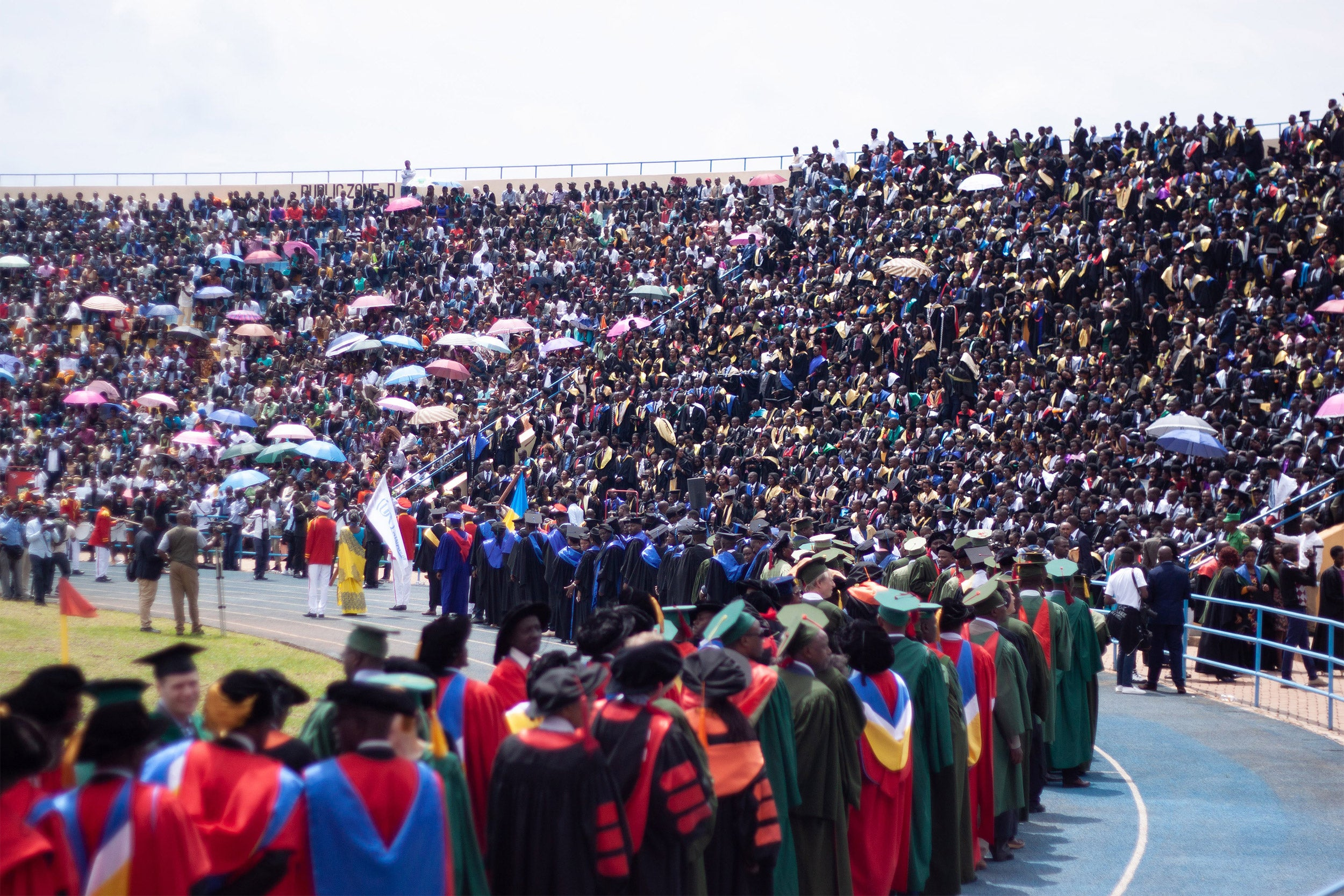 University of Rwanda dental students graduate