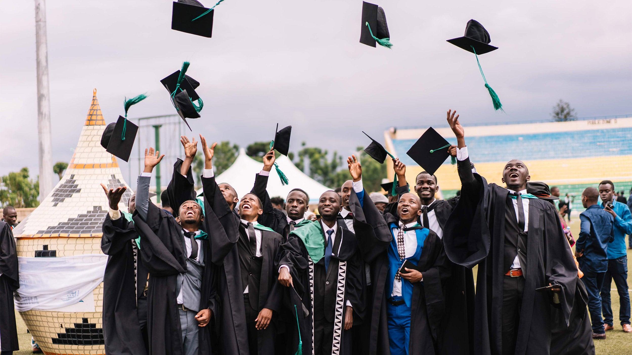 University of Rwanda dental students graduating
