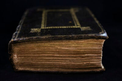 Eliot Indian Bible.