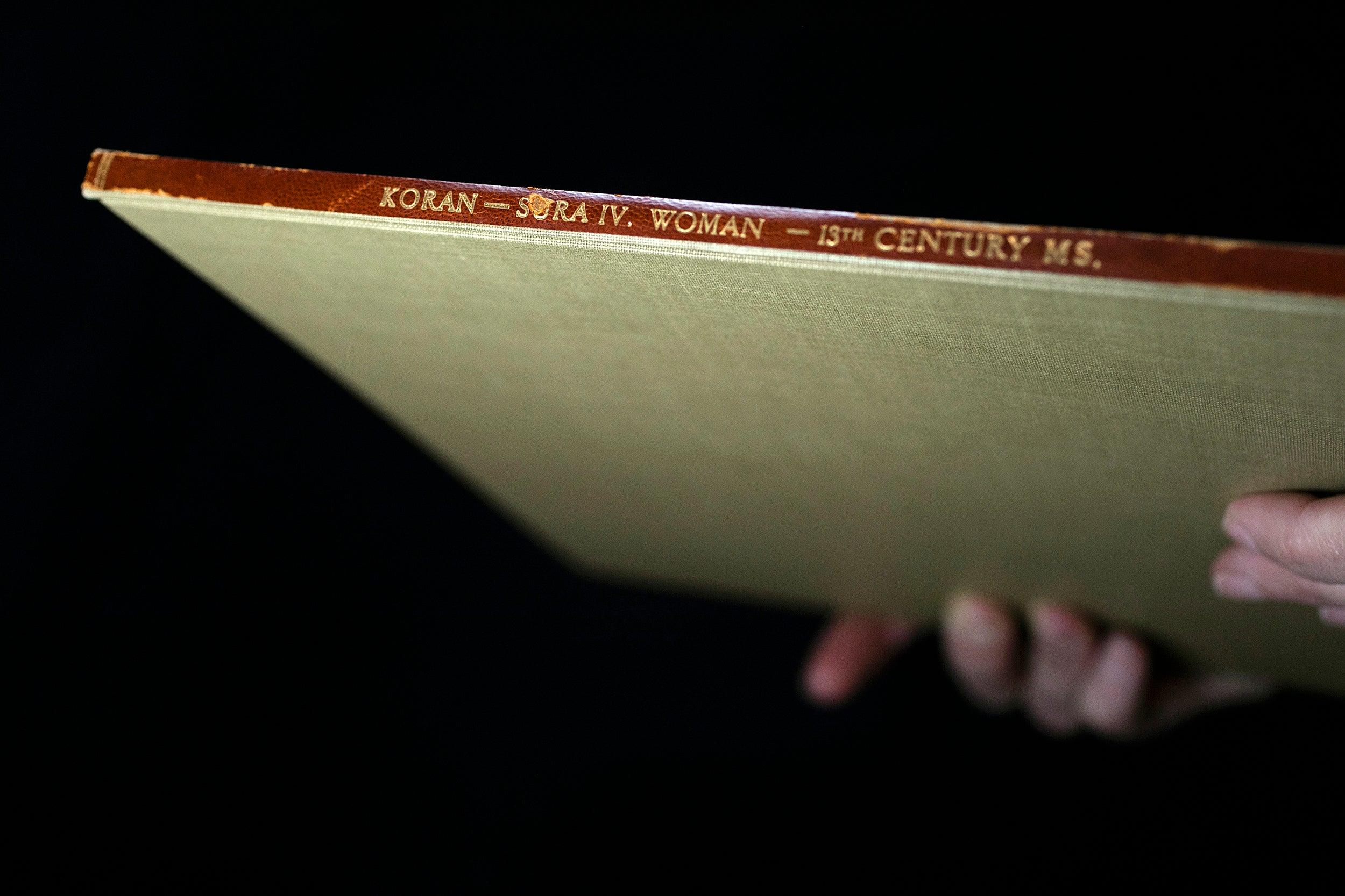 A 13th-Century Koran.