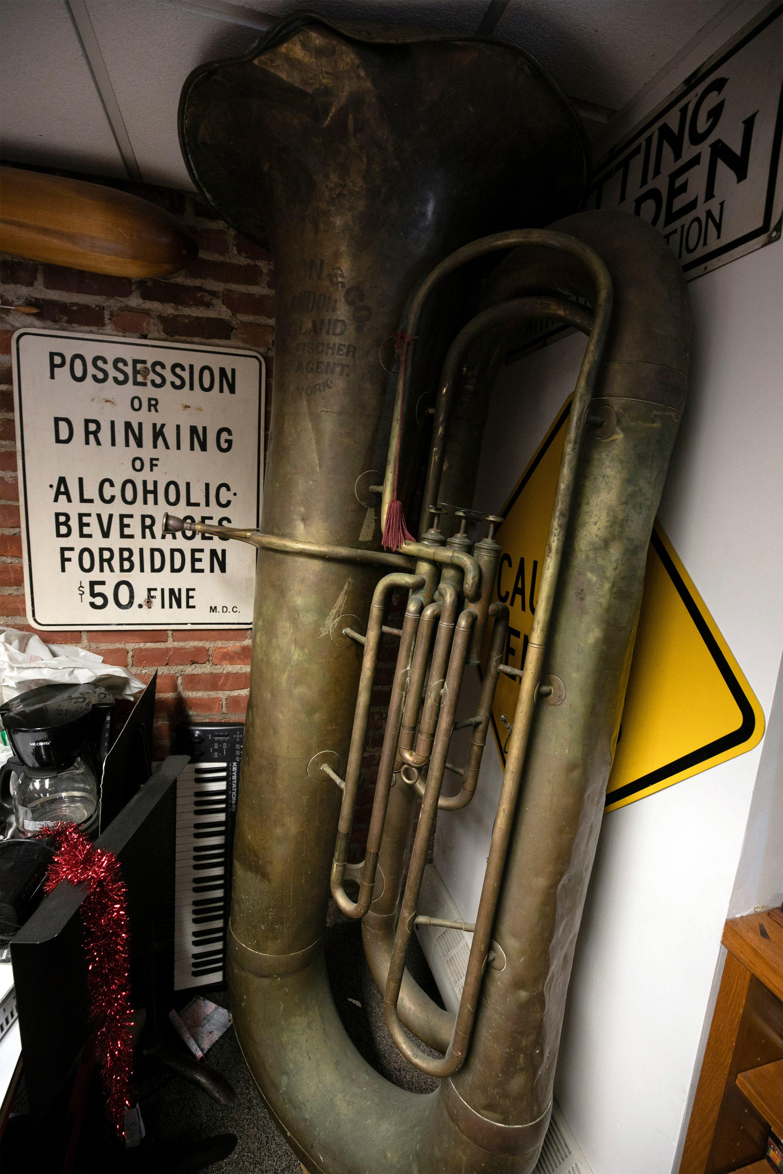 Exploring The History Of Harvards Giant Tuba Harvard Gazette