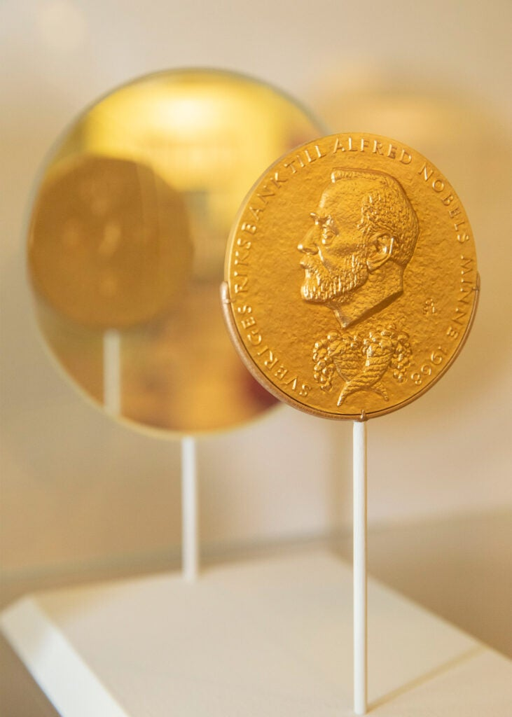 Robert Merton's Nobel Medal