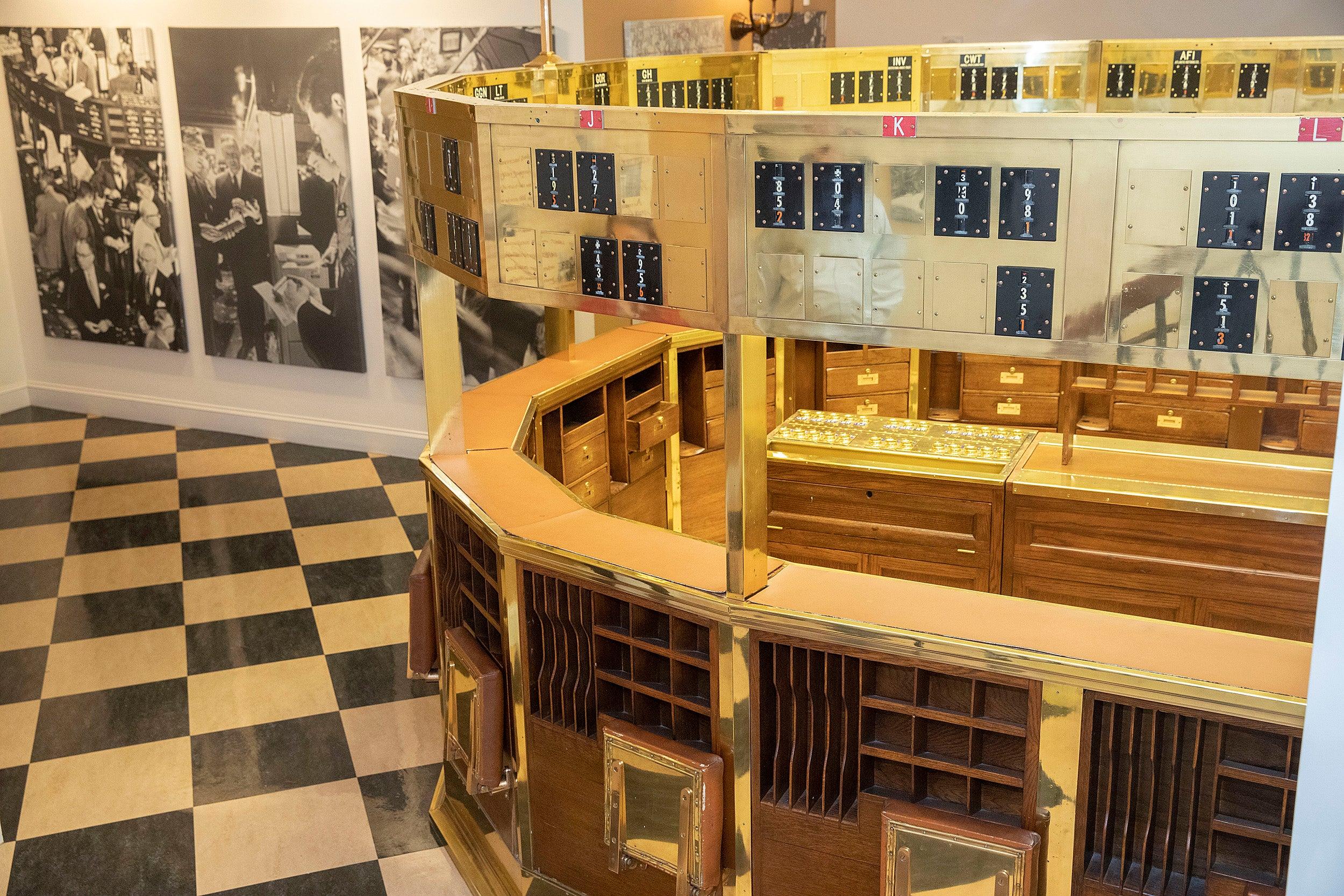 Harvard Business School Baker Library Exhibit