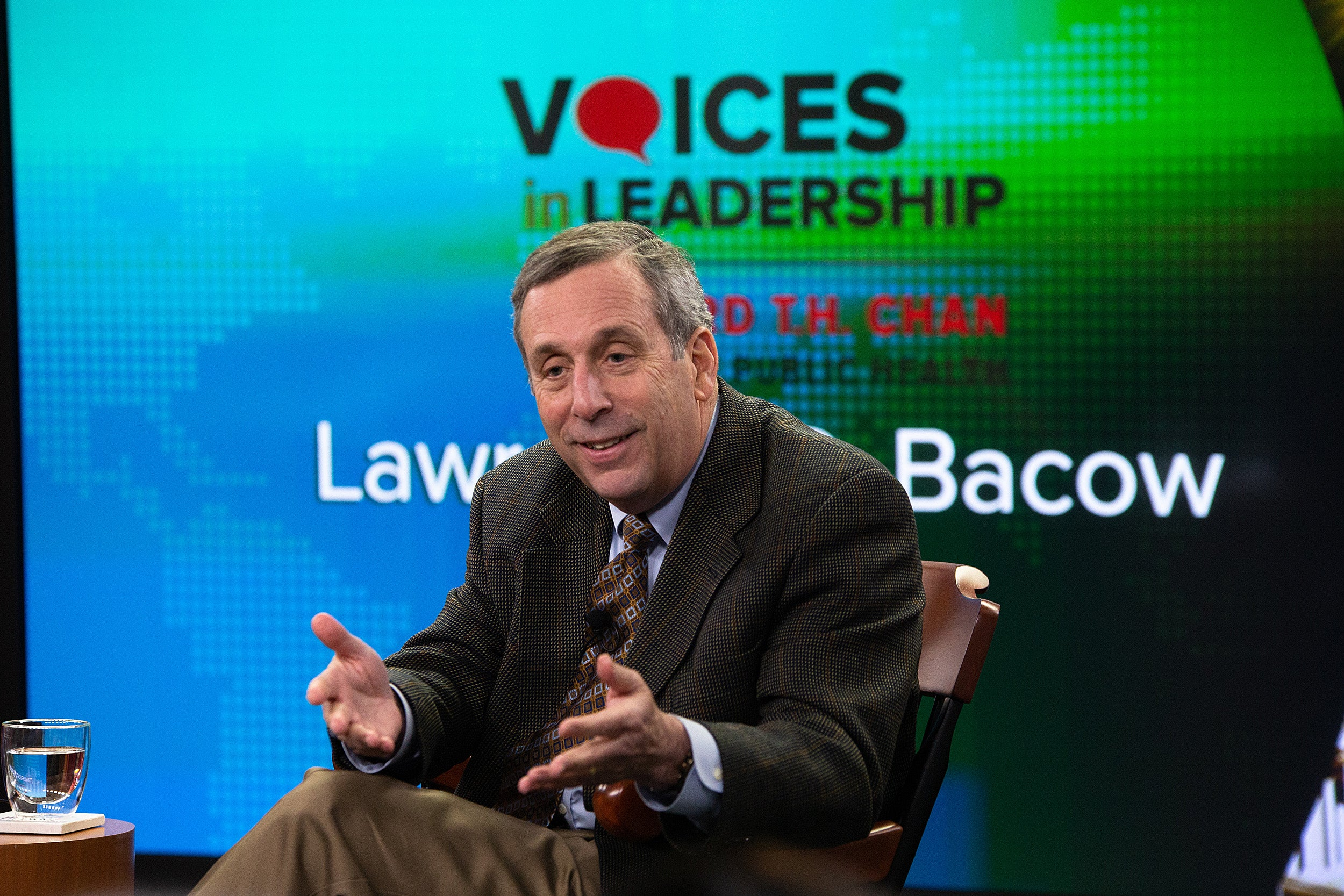 Larry Bacow
