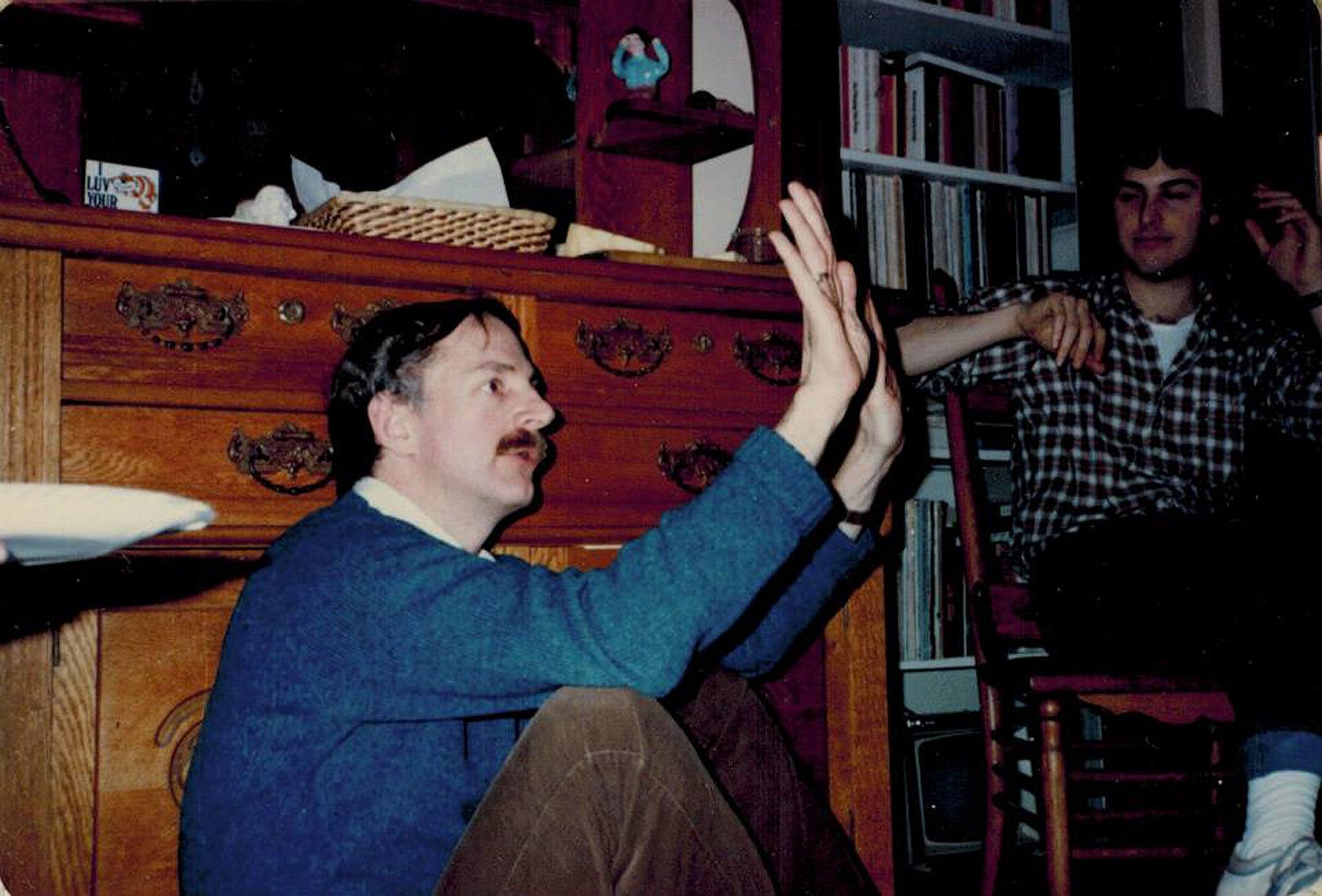 David Elliott in 1980s