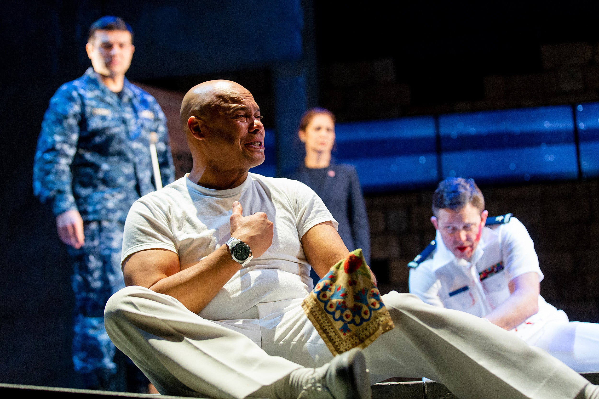 """Stephen Greenblatt and Bill Rauch discuss both the history and the new production of """"Othello."""""""