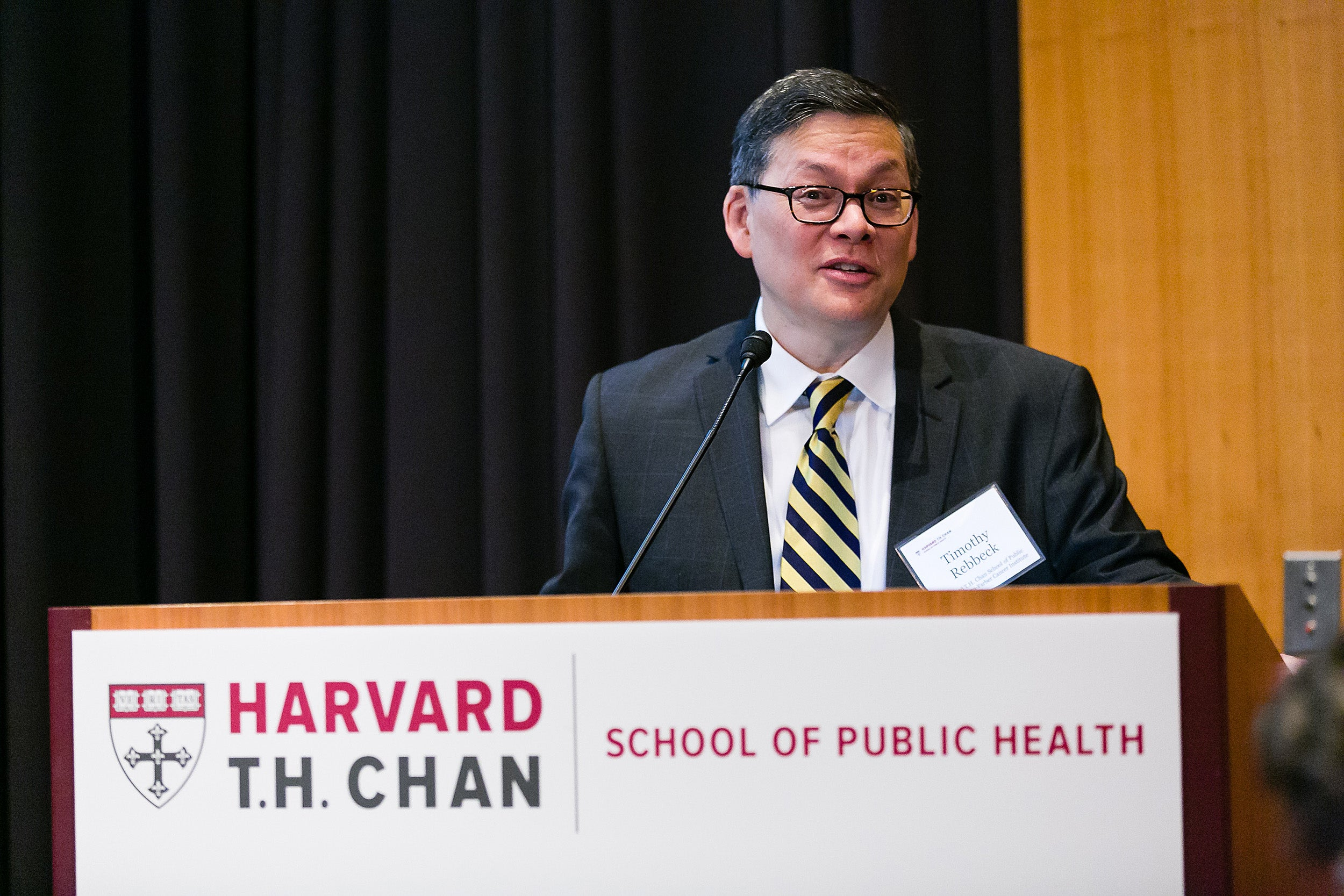 Timothy Rebbeck, the director of the Chan School's new Zhu Family Center for Global Cancer Prevention.
