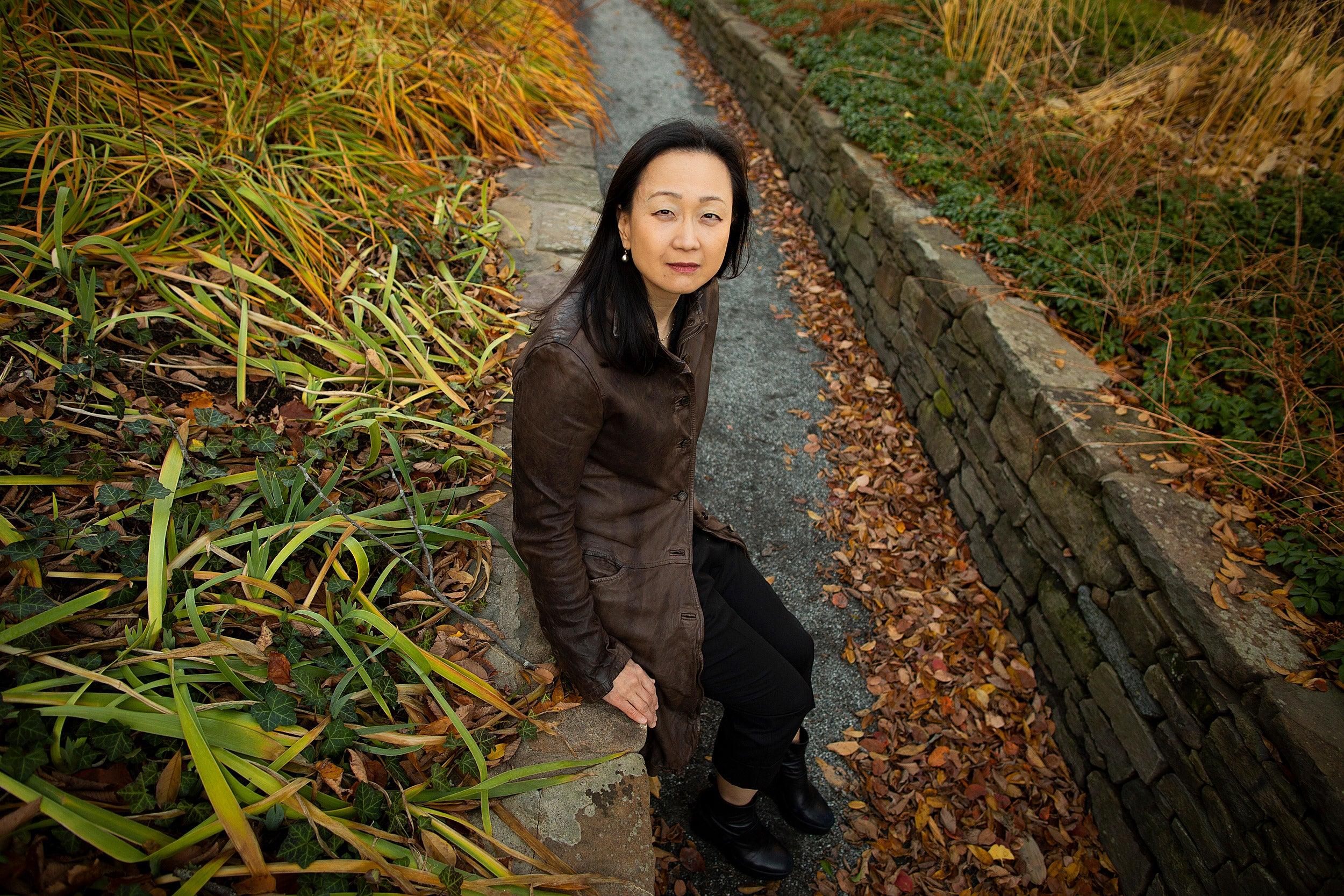 Portrait of Min Jin Lee