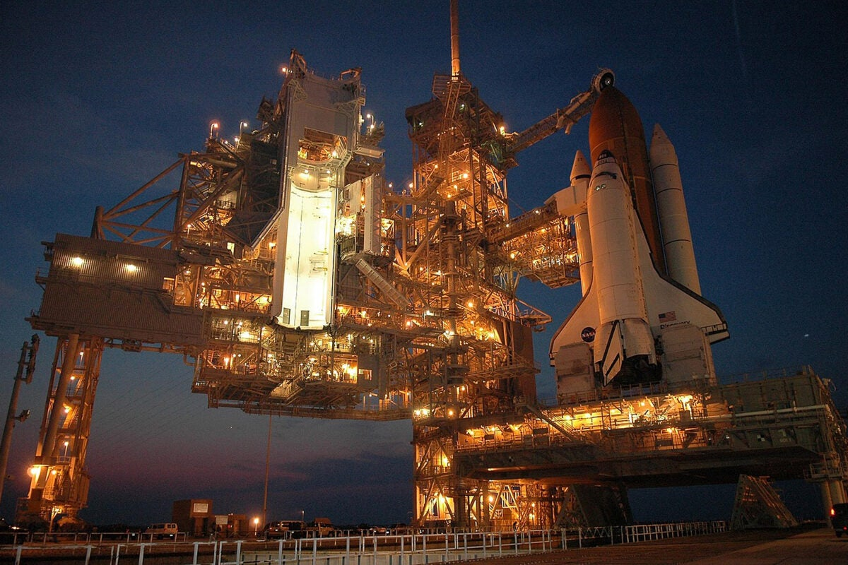 Discovery Space Station.