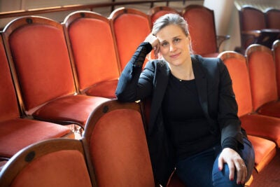 National Book award finalist Lauren Groff