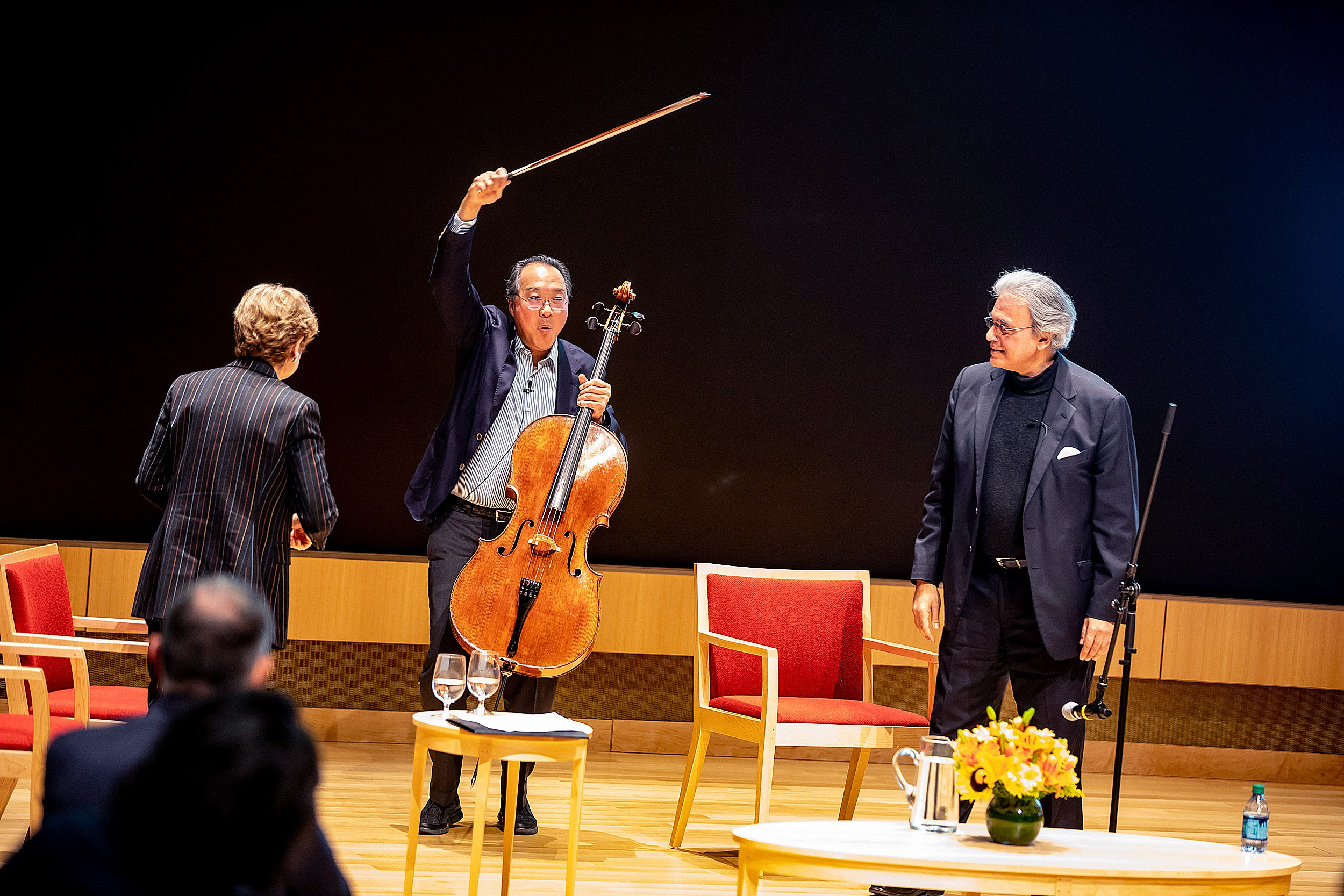 Yo-Yo Ma, speaking at Harvard: 'It's never art for art's sake'