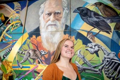 Harvard College graduate Camille DeSisto
