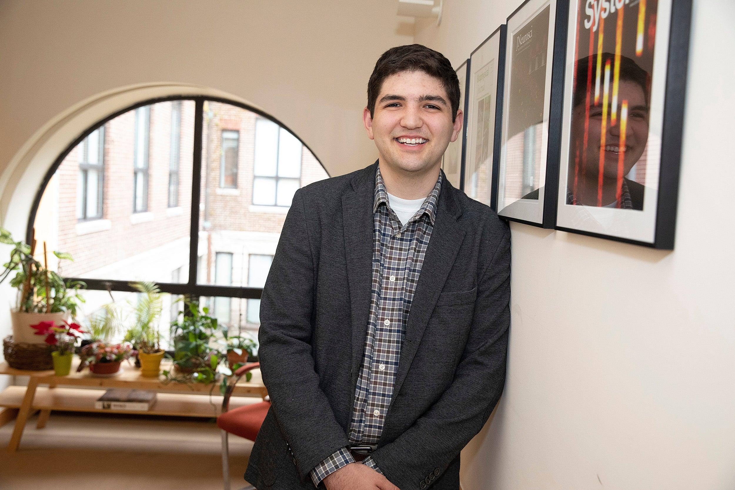 Dalton Brunson in an office