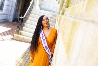 Nicole Johnson was just crowned Miss Massachusetts International.