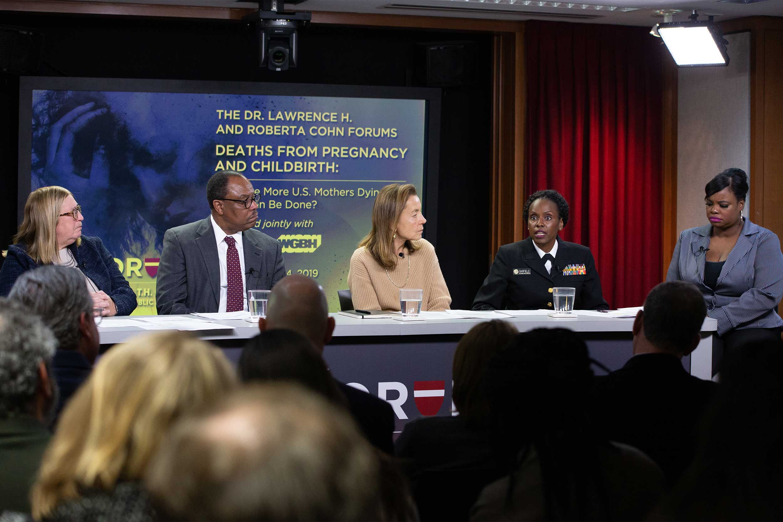 A panel convened to discuss the high maternal mortality rate in the U.S.