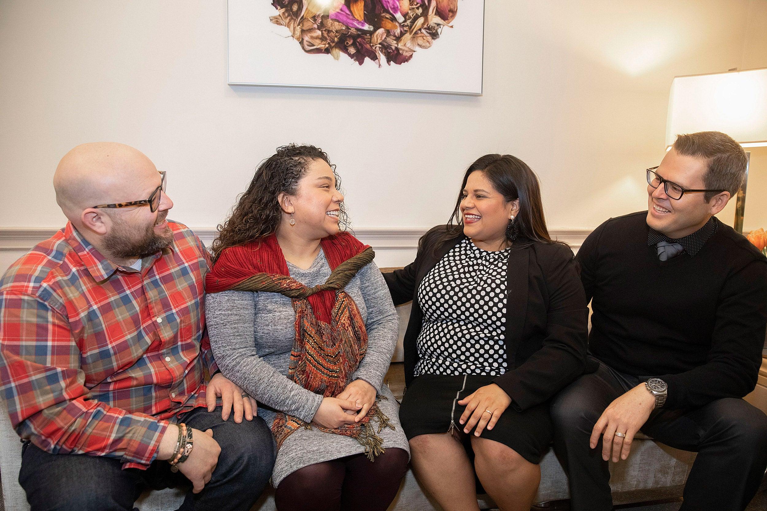Sonia Gomez and Marlon Gomez and Marla Ramirez and Molina Ruano.