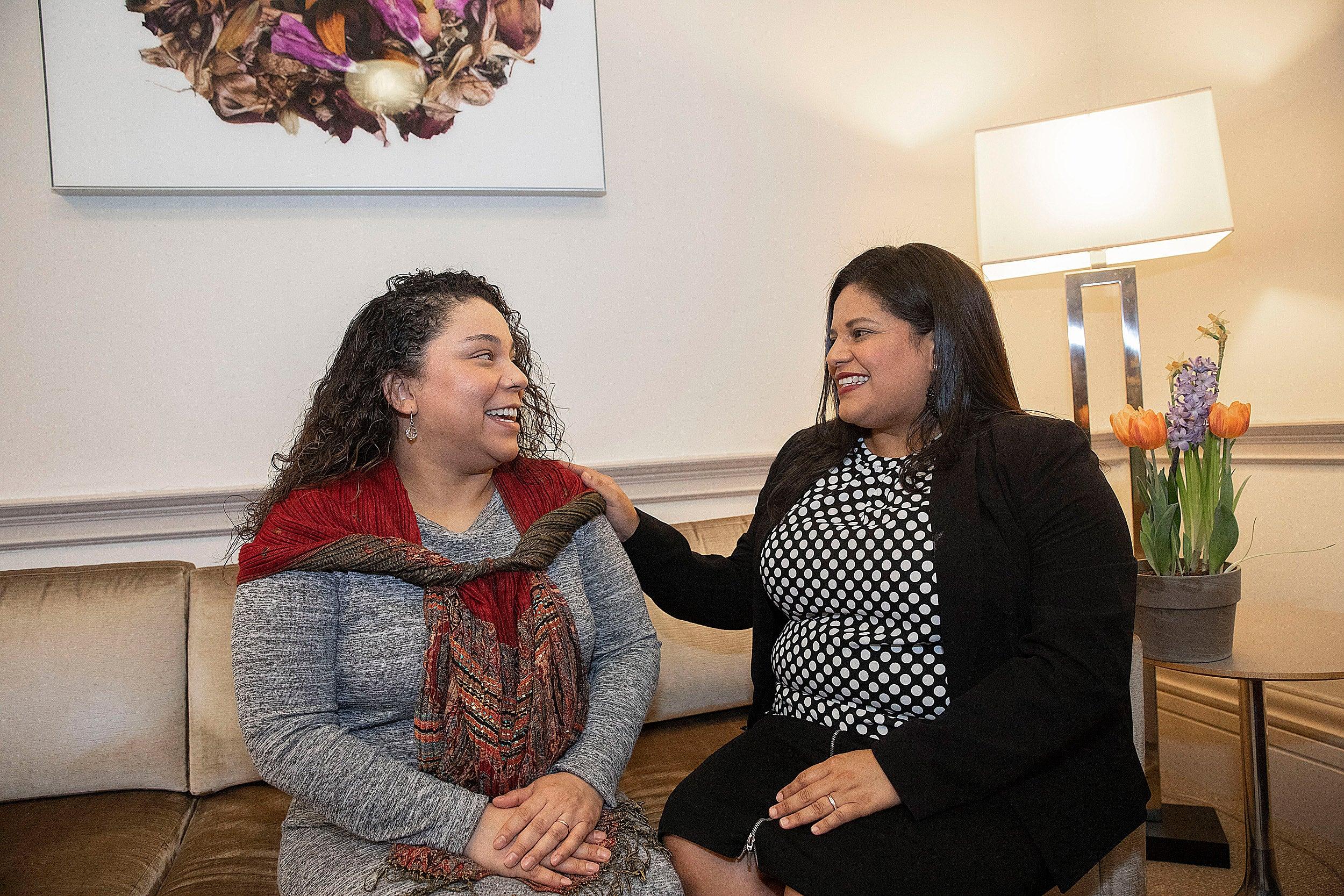 Sonia Gomez and Marla Ramirez.