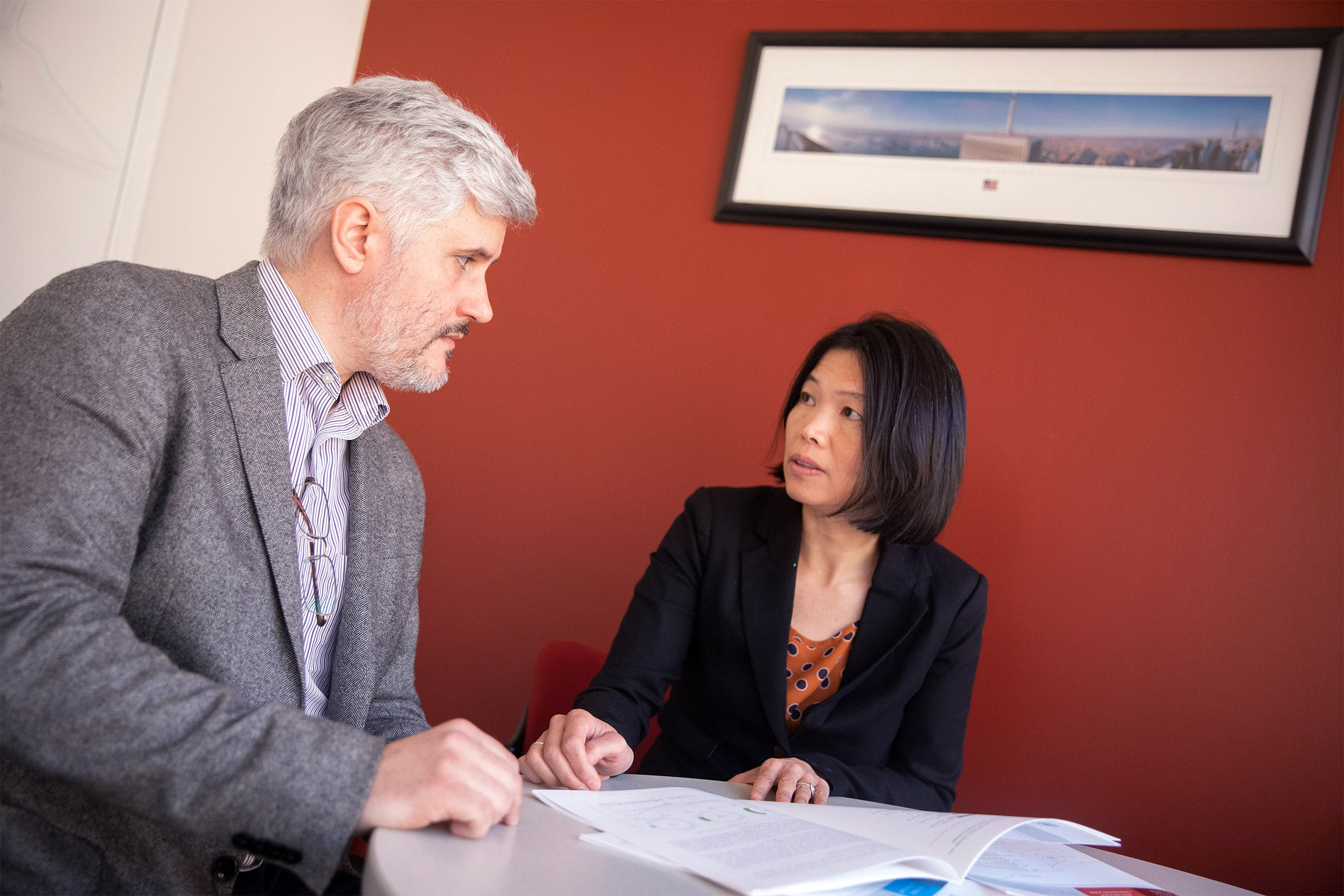 Harvard researchers Patrick Vinck and Phuong Pham are working on reconciling the conflict between trust in institutions and treating Ebola.
