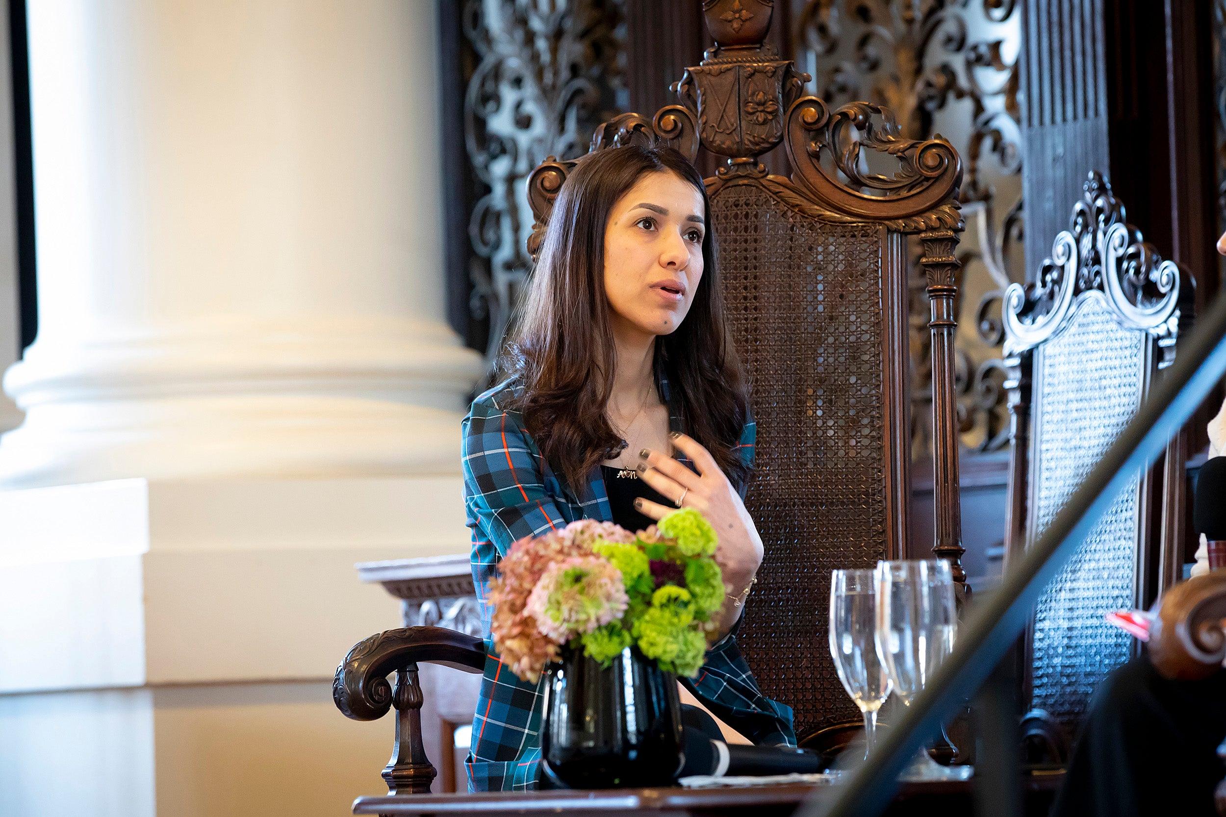 Nobel Peace Prize Laureate, Nadia