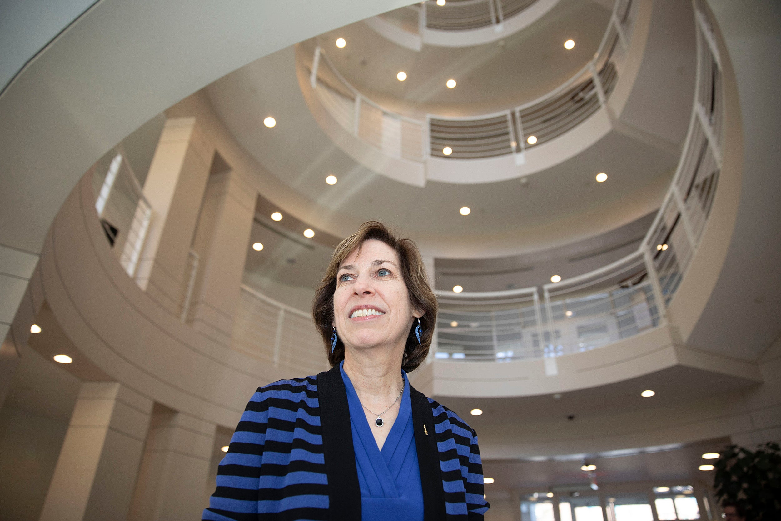 Ellen Ochoa is the former director of the Johnson Space Center and a Hauser Visiting Leader at the Center for Public Leadership this term.