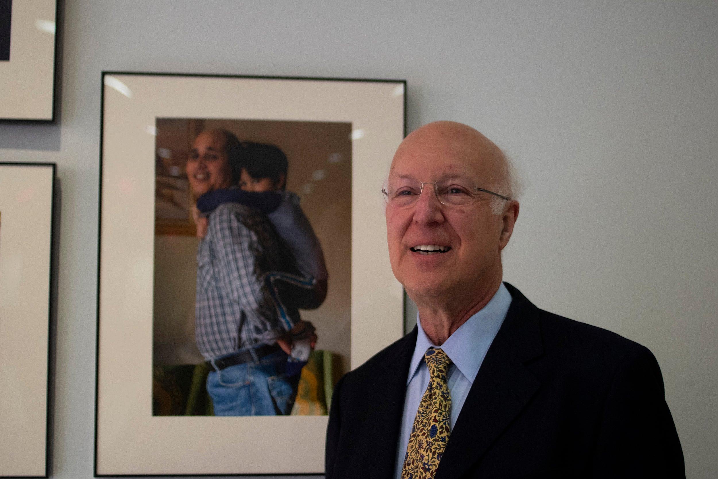 Julian Fisher, a pediatrician and neurologist