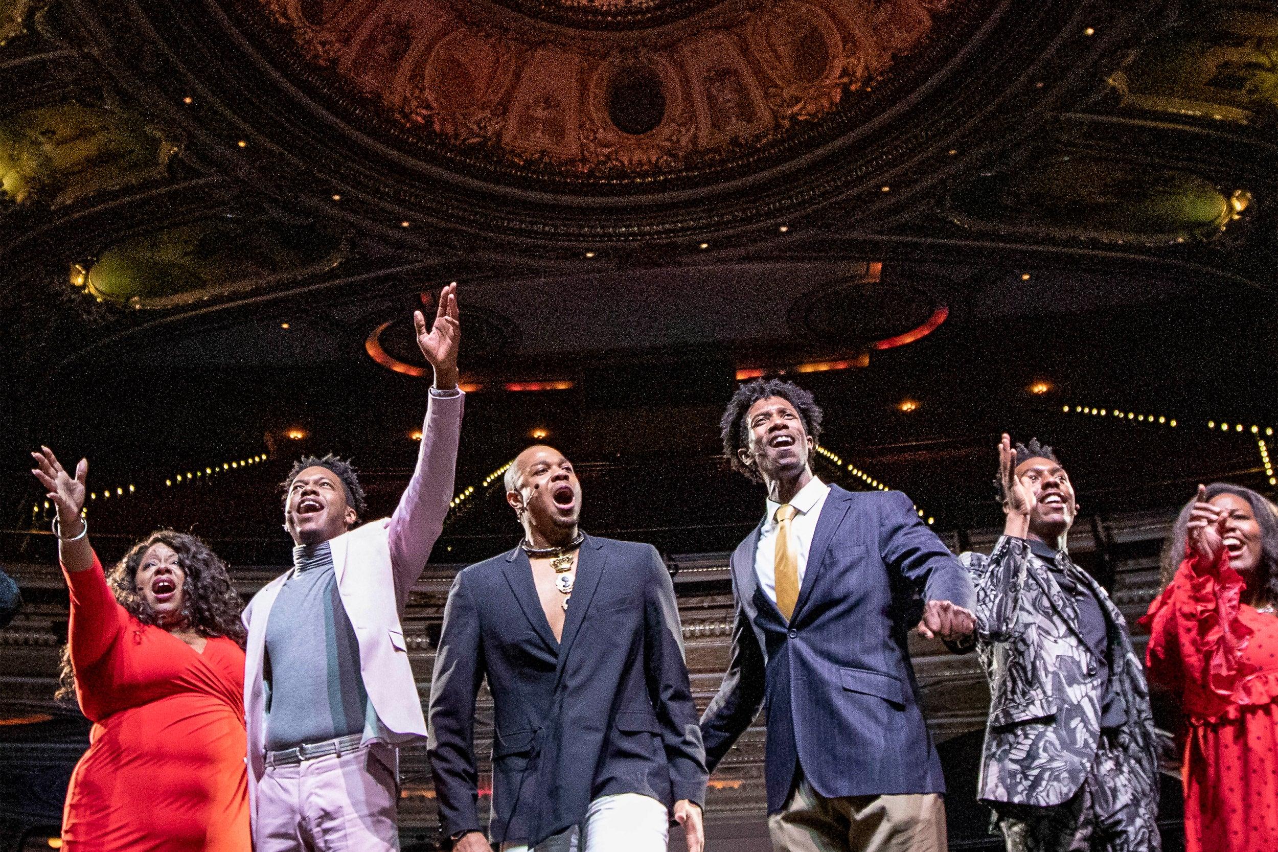 Black Clown cast at ART gala