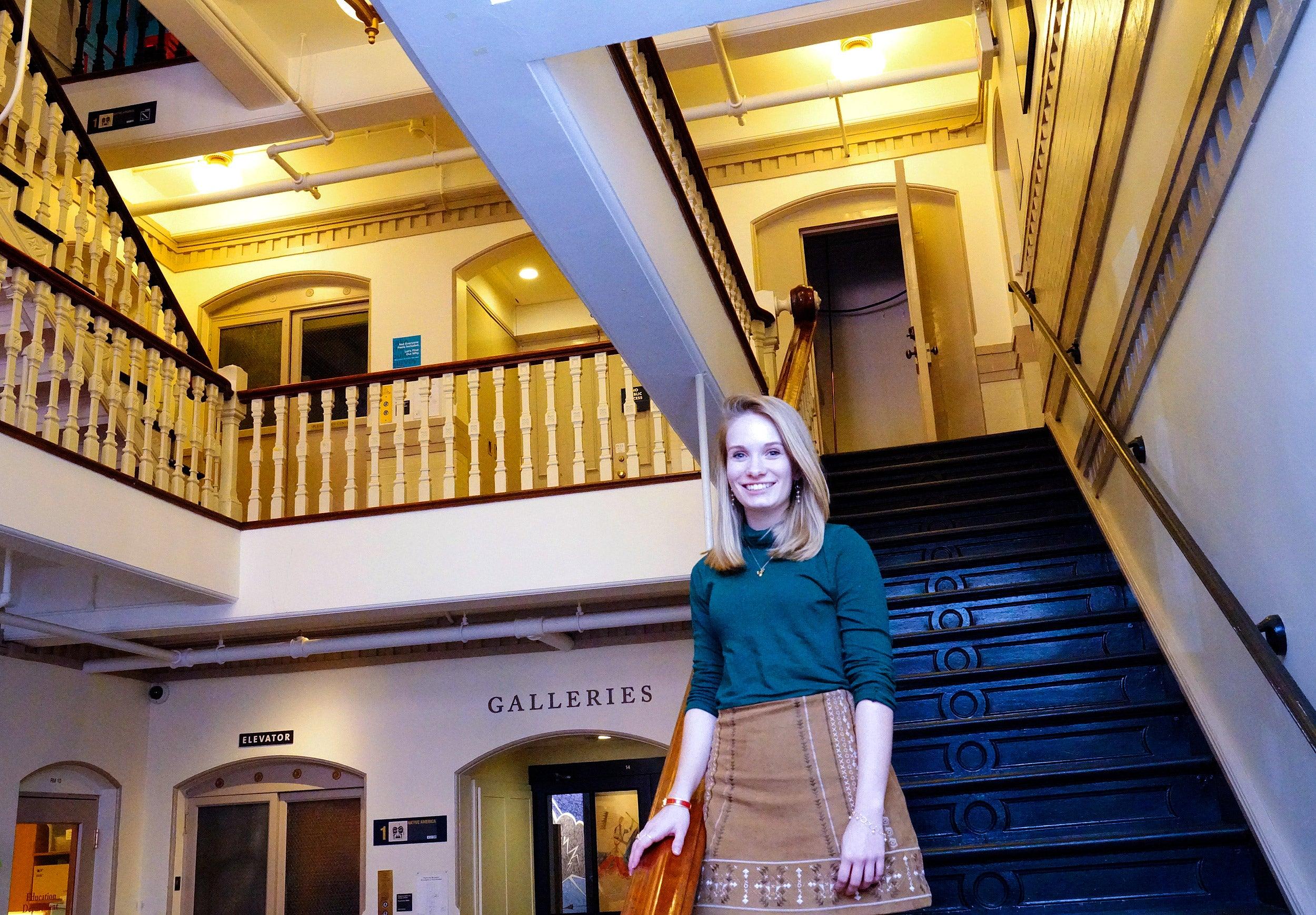 Harvard grad will work behind the scenes to build bridges between museums and their communities