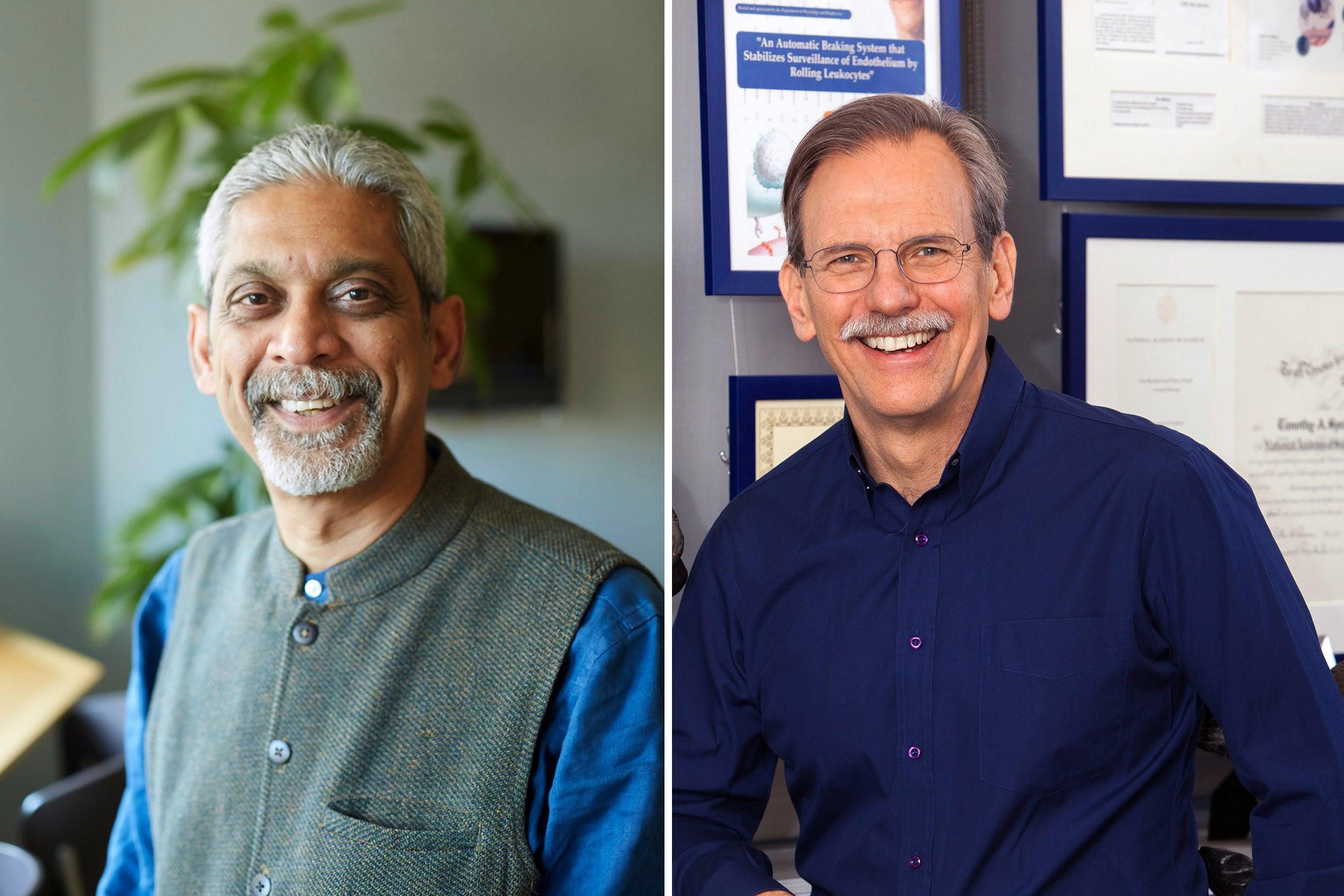 Harvard Medical School researchers Vikram Patel and Timothy Springer, have received the Canada Gairdner Award.