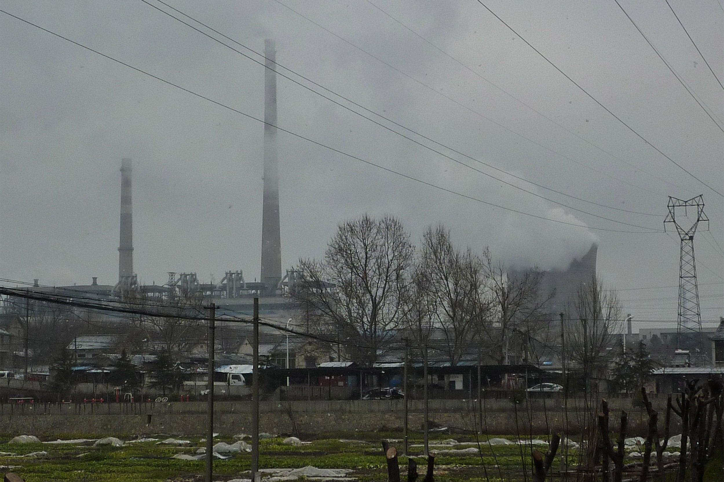Ganjiaxiang's industrial panorama.