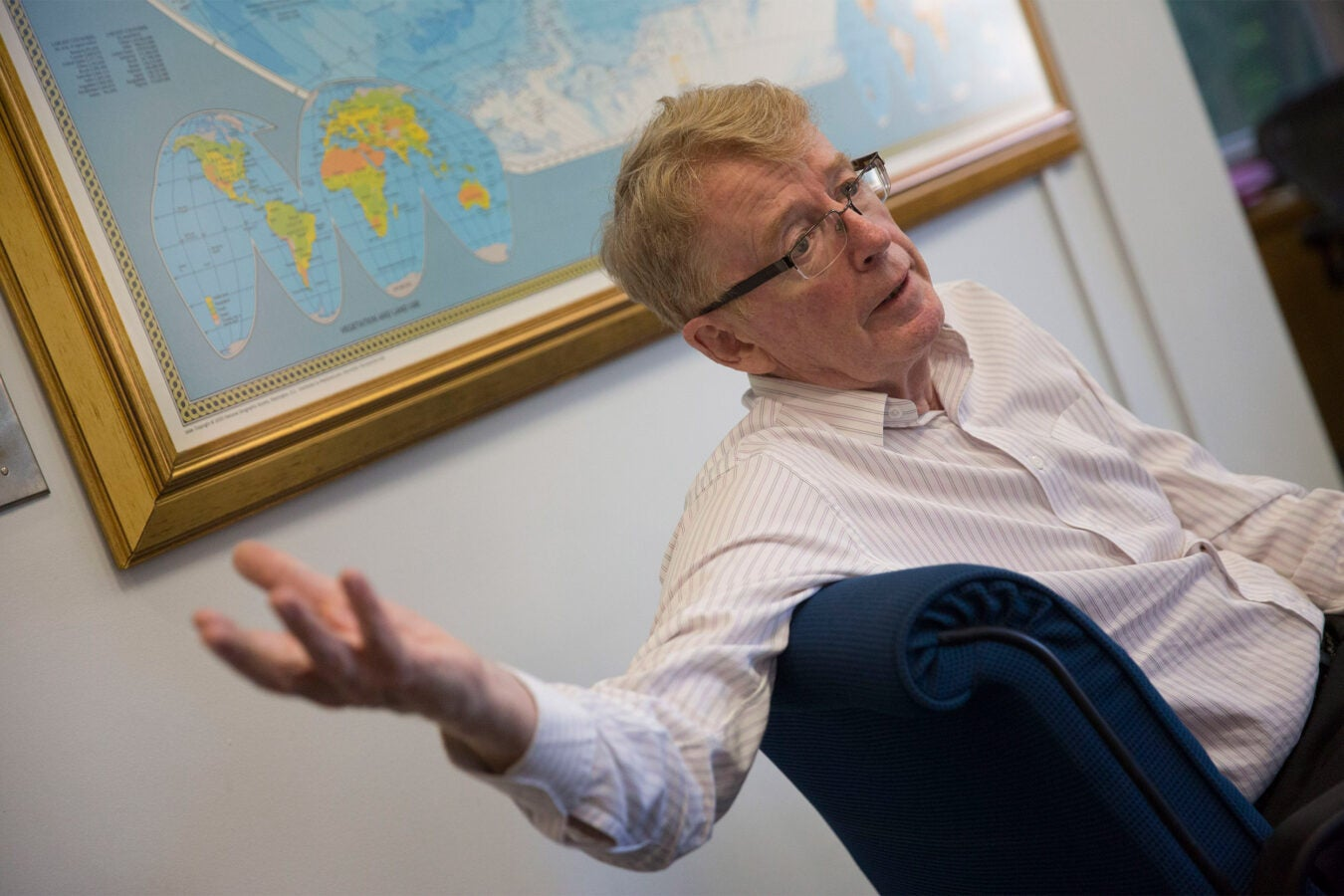 Harvard Professor Michael McElroy