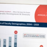 Cover of the annual report of the Office of Faculty Development and Diversity.
