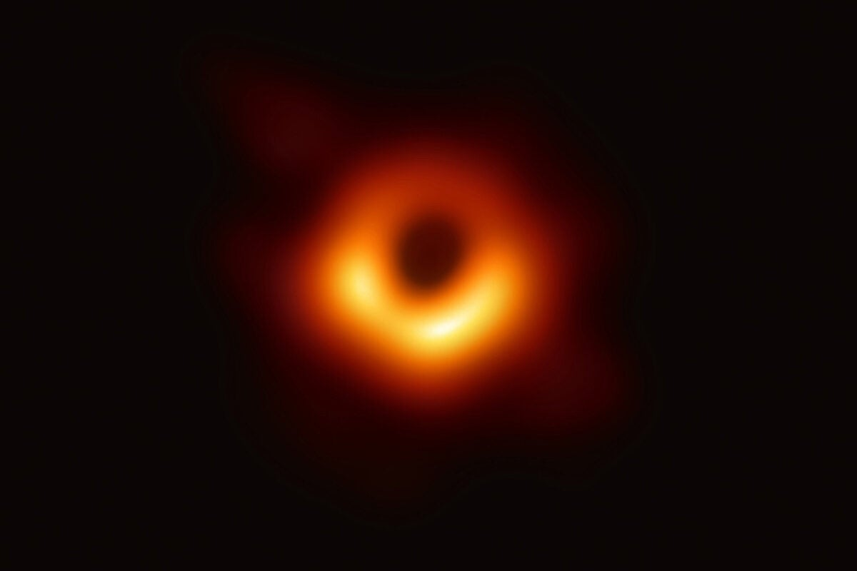 A pic of a black hole