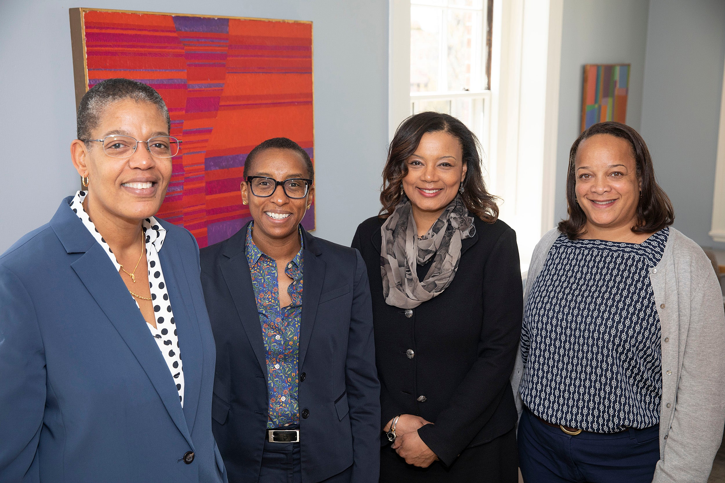 Four women discuss the challenges they face as Harvard deans