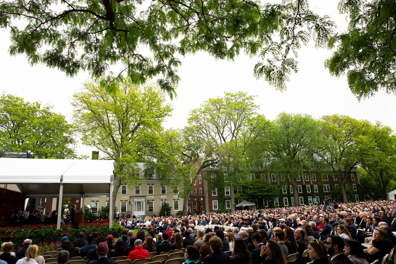 Harvard Business School on its Class Day