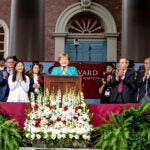 Angela Merkel speaks at Harvard.