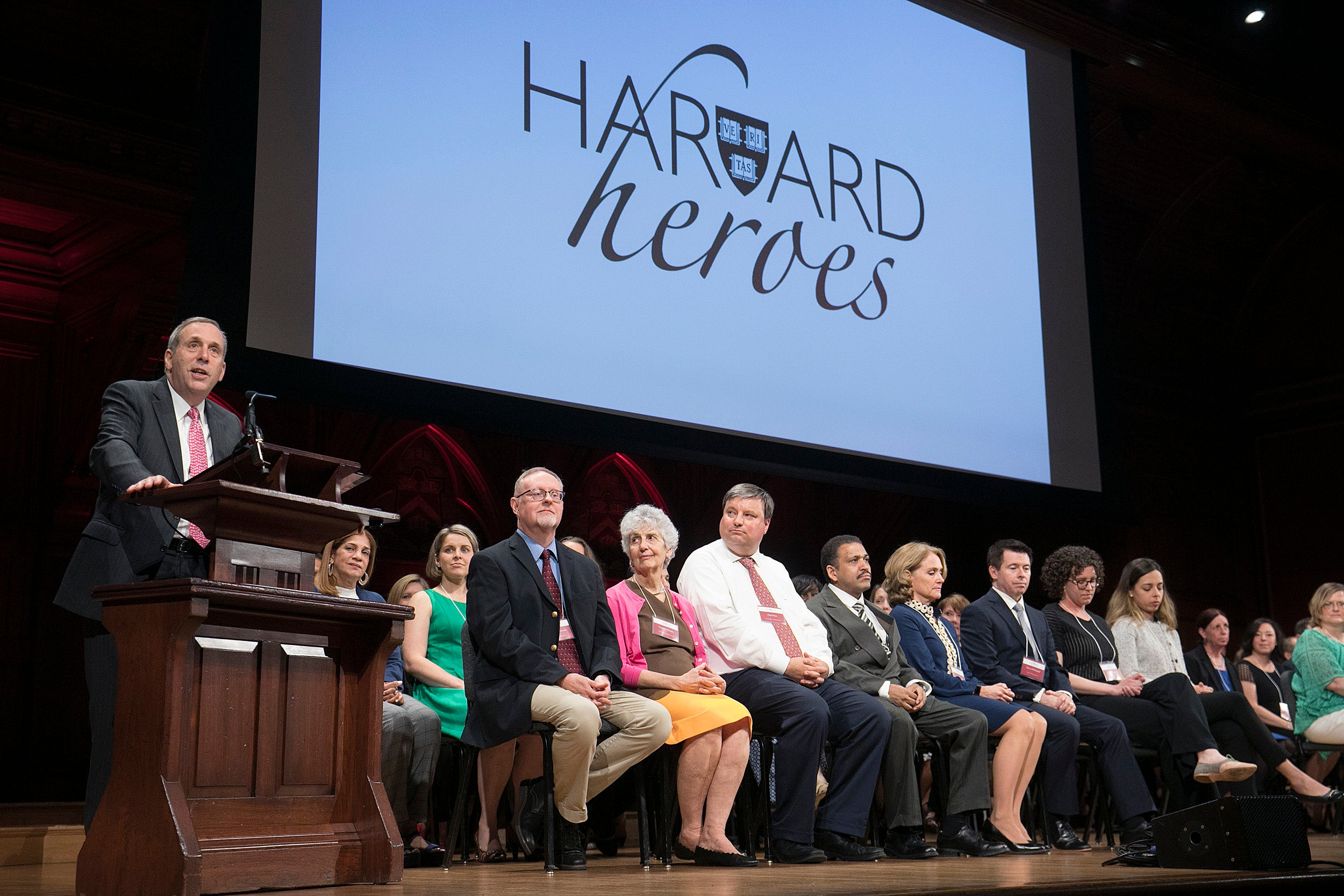 61 members of faculty and staff celebrated as Harvard Heroes