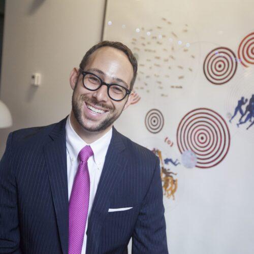 I. Glenn Cohen in his office