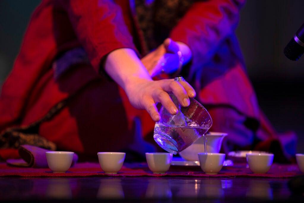 World Tea Cup tea ceremony.