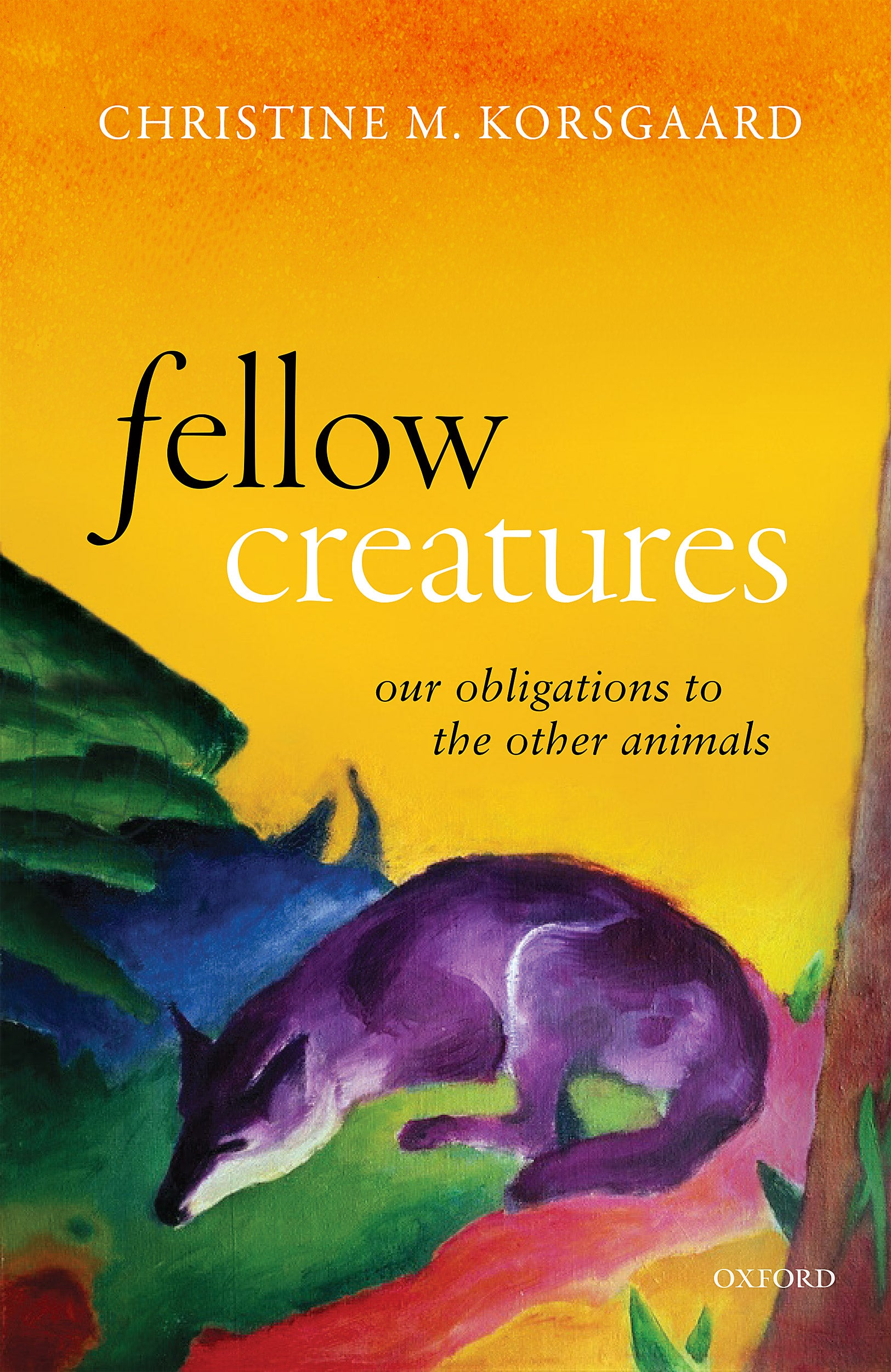 """Fellow Creatures"" book cover."