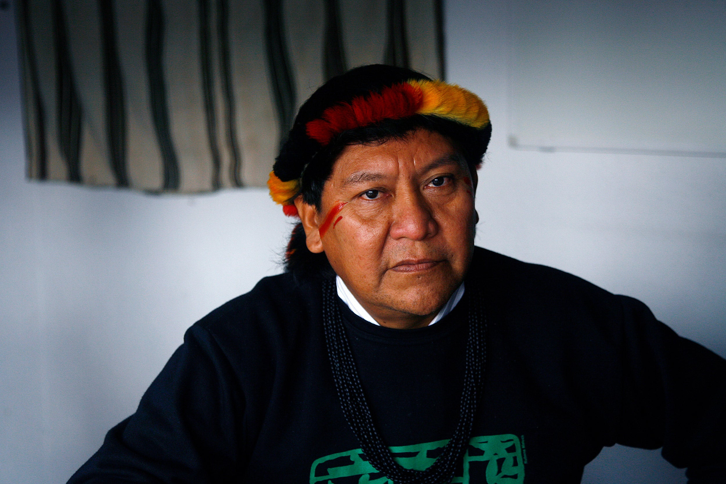 Shaman Davi Kopenawa Yanomami