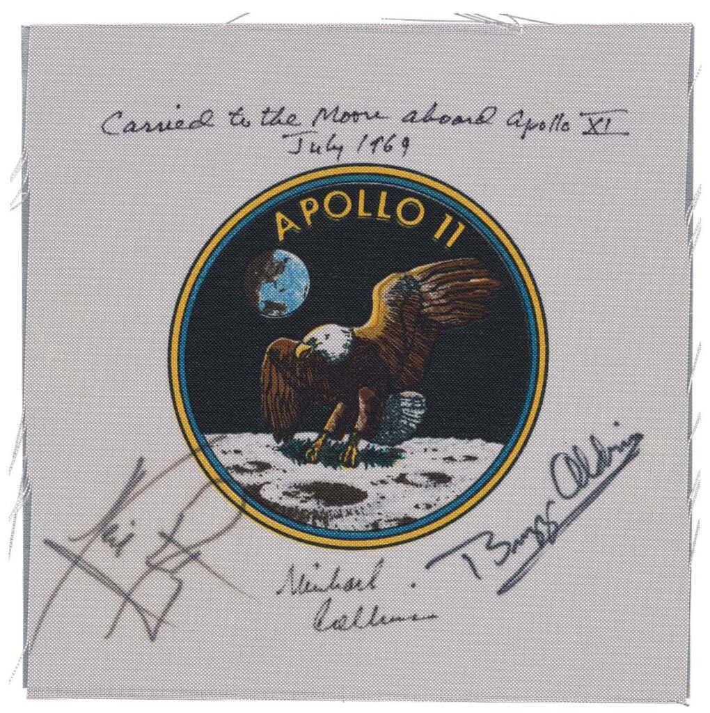 Apollo 11 mission patch.